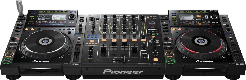 Location table de mixage pioneer djm900 nexus paris - Table de mixage avec carte son integree ...