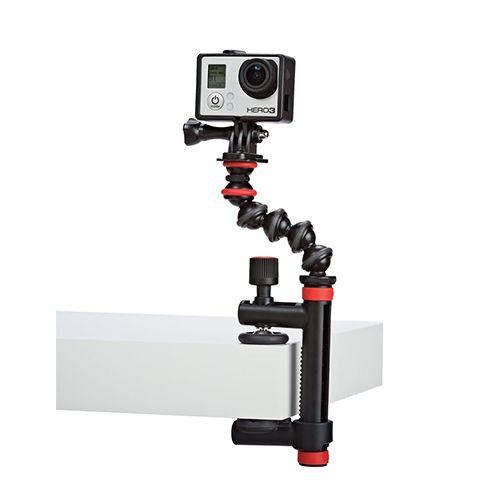 fixation flexible avec bras de serrage pour GoPro