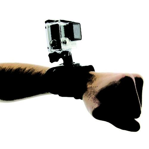 Fixation bracelet velcro STS pour GoPro